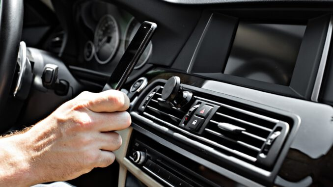 telefoonhouder auto ventilatierooster